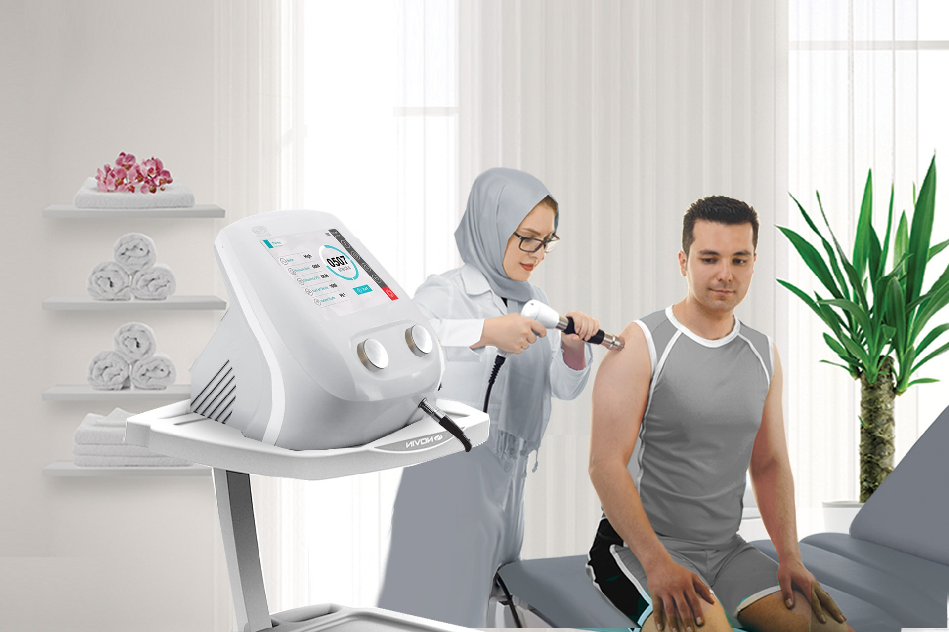 Shockwave-Physiotherapy